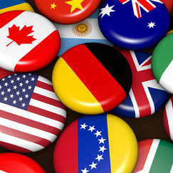 International Flags Theme Party Supplies