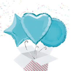 Baby Blue Balloon In A Box