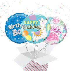 Birthday Message Balloon In A Box