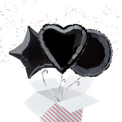 Black Balloon In A Box