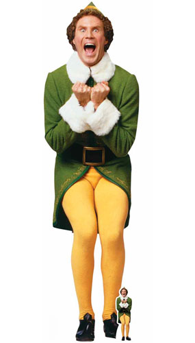 Buddy The Elf Christmas Icon Lifesize Cardboard Cutout 187cm Product Gallery Image