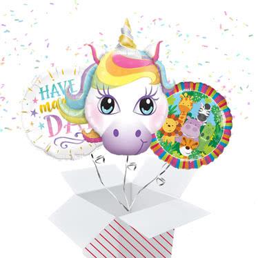Children's Birthday Balloon In A Box