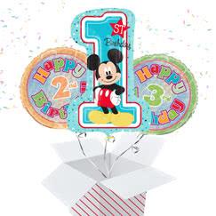 Children's Birthday Ages Balloon In A Box