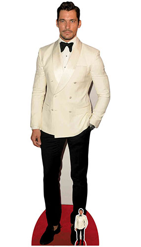 David Gandy Lifesize Cardboard Cutout 192cm