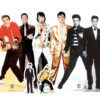Elvis Presley Table Top Cutout Decorations Pack of 8 Product Image