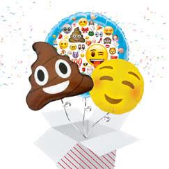 Emoji Balloon In A Box