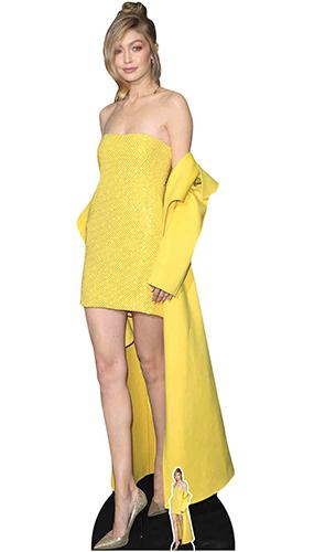 Gigi Hadid Lifesize Cardboard Cutout 182cm Product Gallery Image