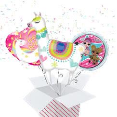 Girls Birthday Balloon In A Box