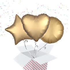Gold Balloon In A Box