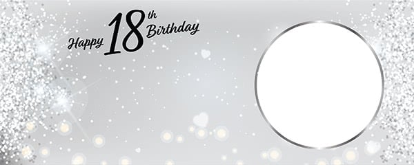 Personalised 18th Birthday Party Banners Partyrama