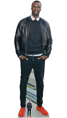 Omar Sy Lifesize Cardboard Cutout 193cm Product Gallery Image