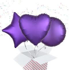 Purple Balloon In A Box