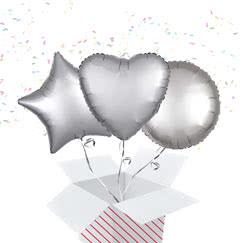 Silver Balloon In A Box