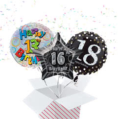 Teen Ages Balloon In A Box