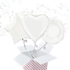White Balloon In A Box