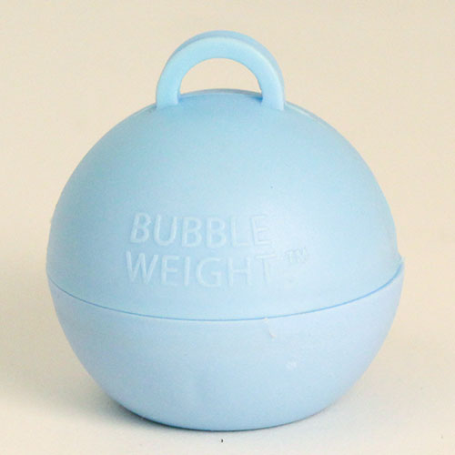 Baby Blue Bubble Balloon Weight 35g Product Image