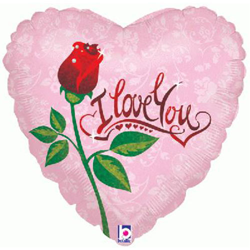 dew-drop-love-valentines-holographic-foil-helium-balloon-46cm-18inch-product-image