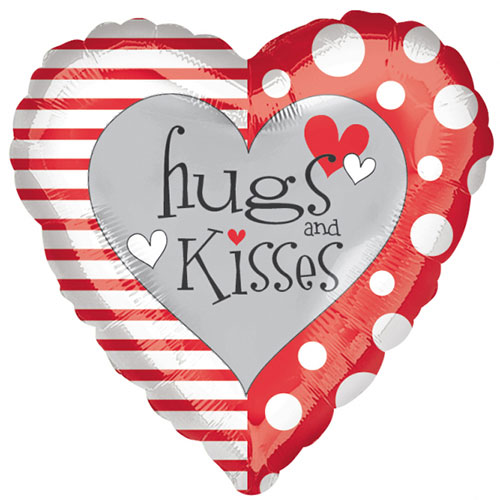 hugs-and-kisses-valentines-day-foil-helium-balloon-43cm-17inch-product-image