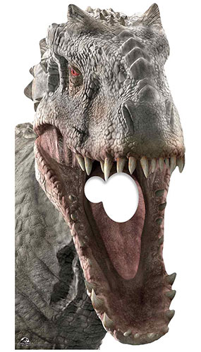 Indominus Rex Dinosaur Stand In Lifesize Cardboard Cutout 189cm Product Gallery Image