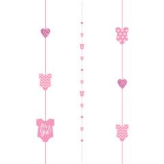 It's A Girl Fun String Balloon Tail 182cm