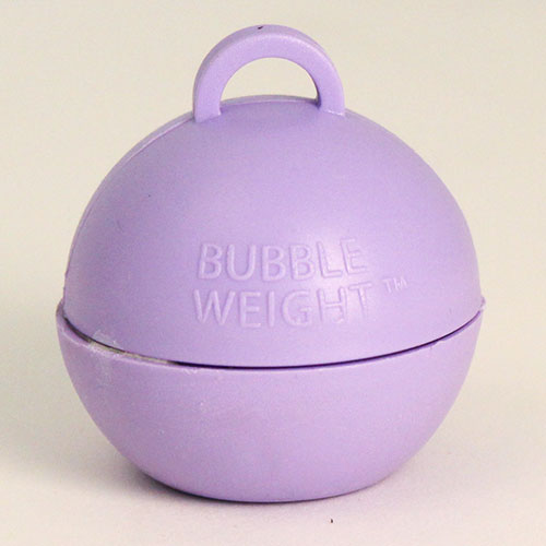 Lilac Bubble Balloon Weight 35g Product Image