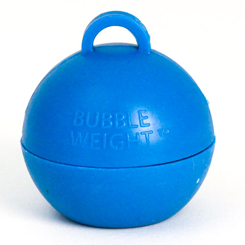 Blue Bubble Balloon Weight 35g Product Image