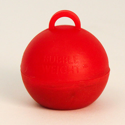 Red Bubble Balloon Weight 35g