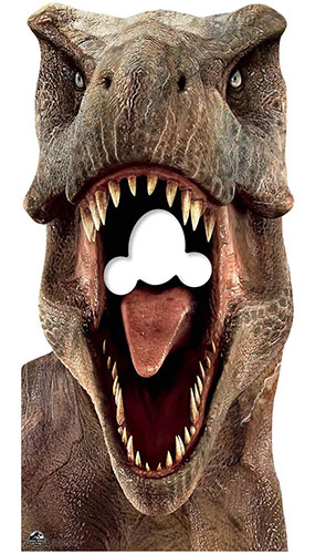 Tyrannosaurus Rex T-Rex Dinosaur Stand In Lifesize Cardboard Cutout 188cm Product Image