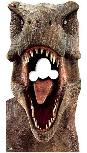Tyrannosaurus Rex T-Rex Dinosaur Stand In Lifesize Cardboard Cutout 188cm Product Gallery Image