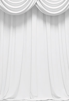 White Curtain Design Large PVC Cake Photography Backdrop 137cm x 90cm