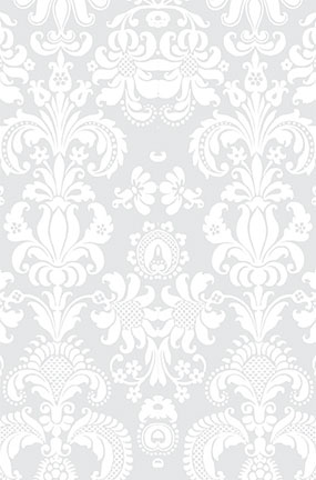 White Damask Design Large PVC Cake Photography Backdrop 137cm x 90cm