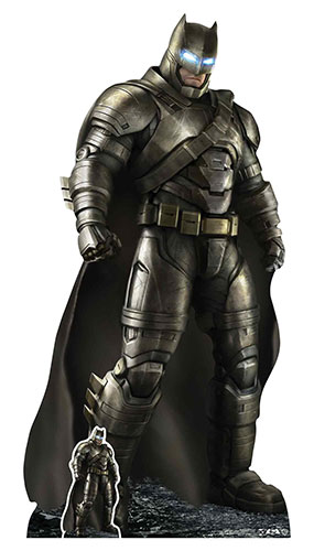 Batman Armoured Batsuit Ben Affleck Lifesize Cardboard Cutout 190cm Product Gallery Image