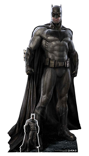 Because I'm Batman Ben Affleck Lifesize Cardboard Cutout 193cm Product Gallery Image