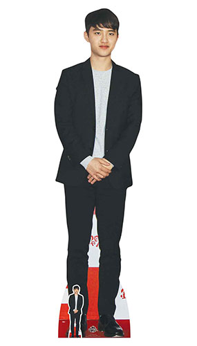 Exo Do Kyung-soo Lifesize Cardboard Cutout 177cm Product Gallery Image