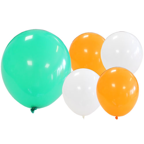 Irish Assorted Latex Balloons 23cm / 9Inch - Pack of 15 Product Image