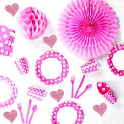 Pink Decorative Dots