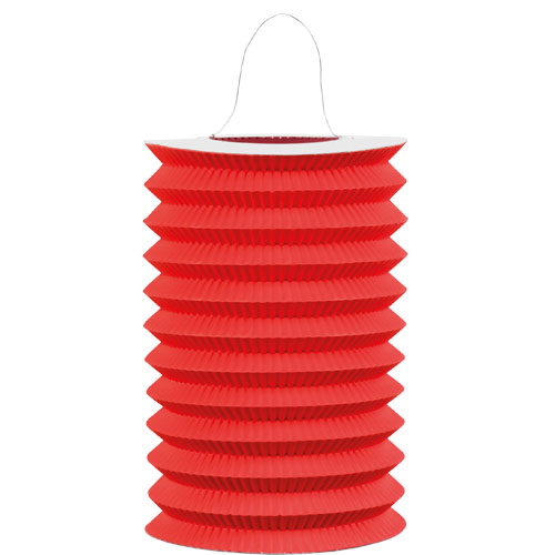 Red Hanging Paper Lantern 15cm Product Image