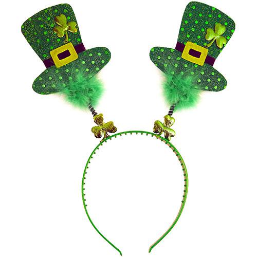 St Patricks Day Head Bopper With Mini Irish Hats