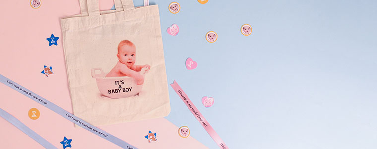 Personalised Gender Reveal Party Supplies