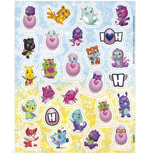 Hatchimals Stickers - Pack of 104