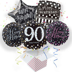 90th Birthday Balloon In A Box