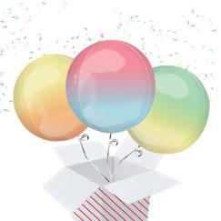 Ombre Balloon In A Box