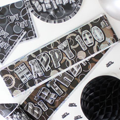 100th Birthday Party Banners
