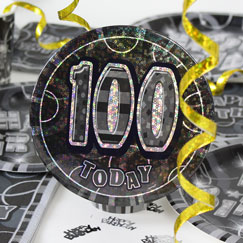 100th Birthday Party Accessories