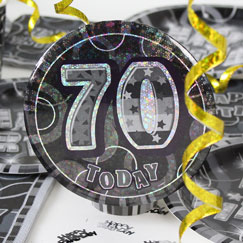 70th Birthday Party Accessories