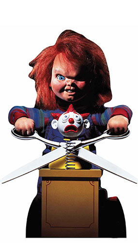 Chucky Doll Star Mini Cardboard Cutout 74cm Product Gallery Image
