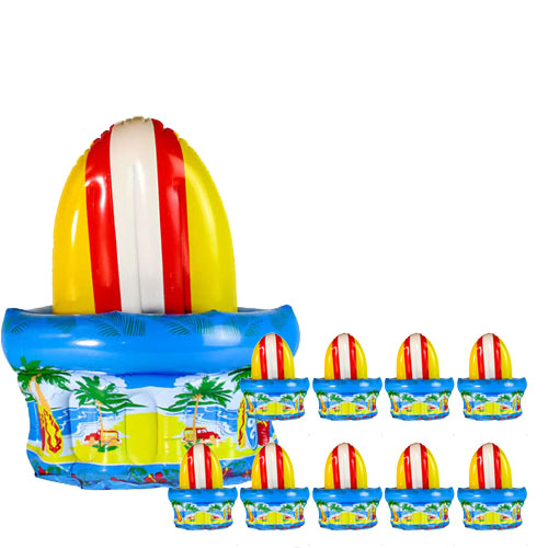 inflatable-surfboard-table-top-cooler-pack-of-10-produc-image