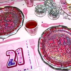 Pink Glitz 21st Birthday