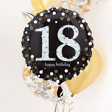 18th Birthday Balloons