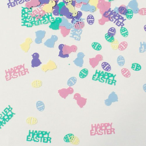 Springtime Easter Assorted Table Confetti - Pack of 6